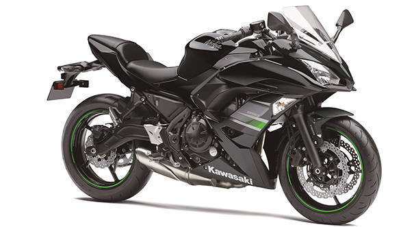 2019 Kawasaki Ninja 650 black launched in India at Rs 5.49 lakh