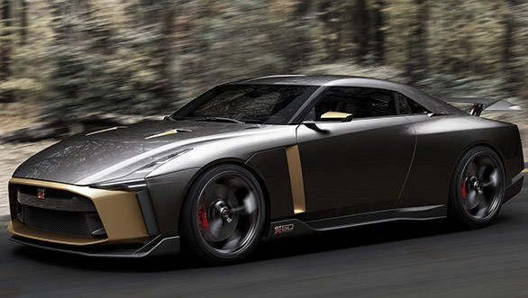 710PS Nissan GT-R50, a precursor to the next-gen  Nissan GT-R?