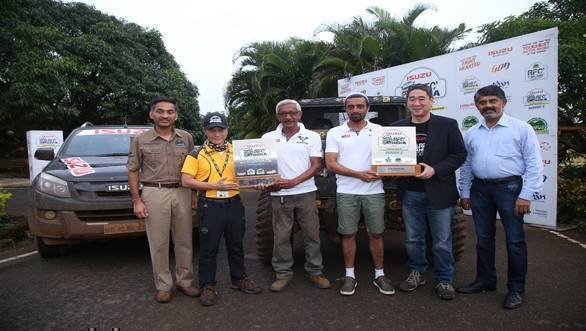 Rainforest Challenge India 2018: Jagat Nanjappa and Chetan Chengappa of V5 Offroaders Coorg crowned winners