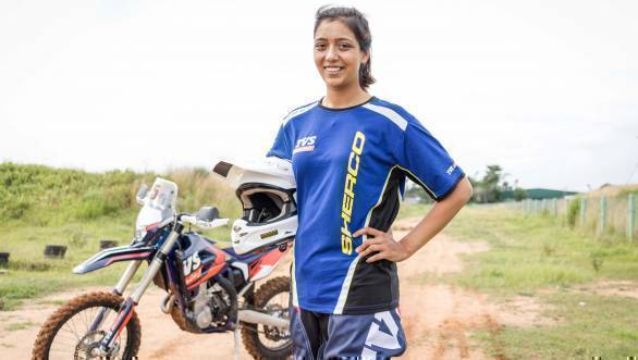 Aishwarya Pissay to be part of Sherco TVS Rally Factory squad at 2018 Baja Aragon