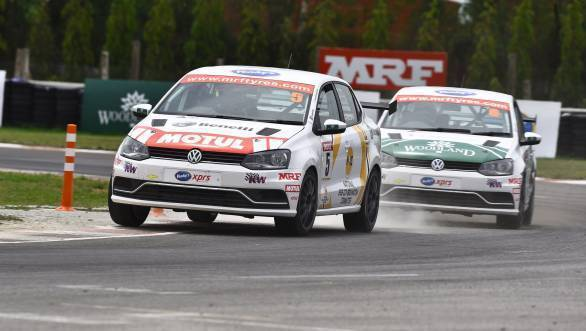 2018 VW Ameo Cup: Jeet Jhabakh and Dhruv Mohite end Round 2 on a high note