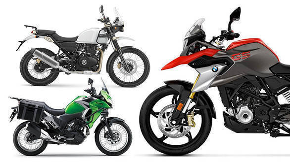 Spec comparison: BMW G 310 GS vs Royal Enfield Himalayan FI vs Kawasaki Versys-X 300