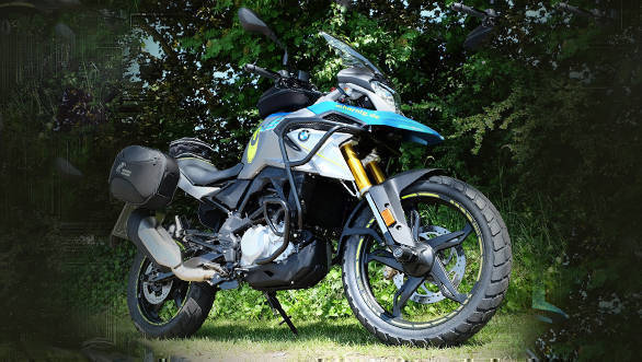 Here is a BMW G 310 GS customised by German parts specialist Hornig