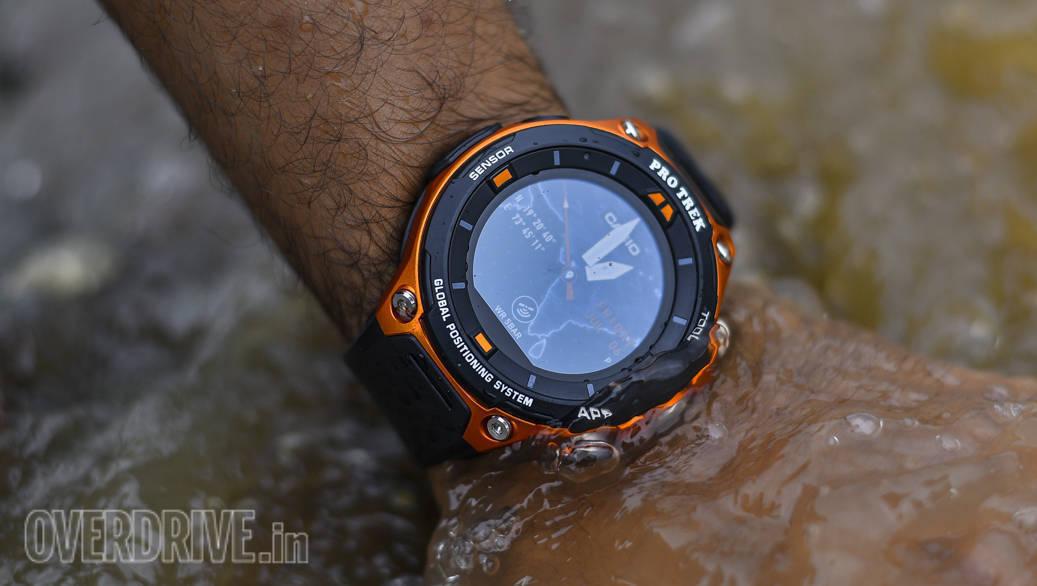 Product review: Casio Pro Trek WSD-F20 smart watch