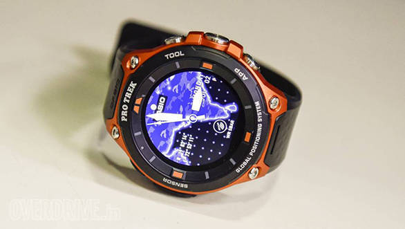On test at OVERDRIVE: Casio Pro Trek WSD-F20 smart watch