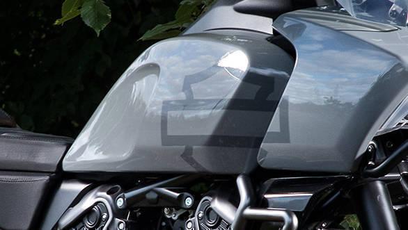 2020 Harley-Davidson Pan America tank detail