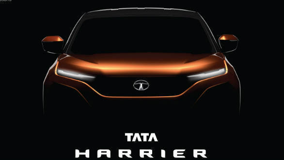 Tata Motors names the production version of the H5X SUV the Tata Harrier