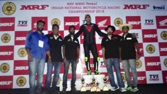Hat-trick for Hemant Mudappa at Round 1 of National Drag Racing Championship