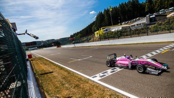 FIA F3 European Championship: Victory for Jehan Daruvala in Race 1 at Spa-Francorchamps