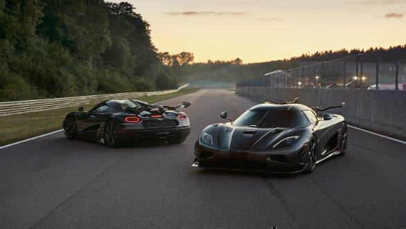 Last two examples of the Koenigsegg Agera hypercar revealed