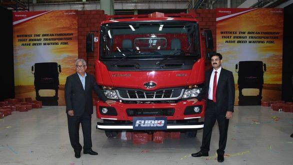 Mahindra enters the Intermediate Commercial Vehicle space with the Furio range in India