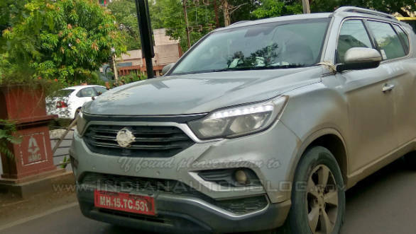 More spy images emerge of the Mahindra (Ssangyong) Rexton G4