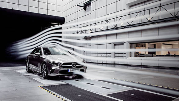 Mercedes-Benz A-Class Sedan teased as the most aerodynamic production car