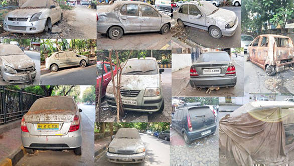 Why are cars being left to die in Mumbai