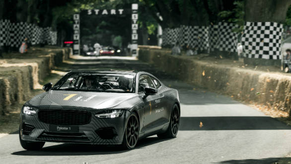 2018 Goodwood Festival of Speed: Polestar 1 production-spec prototype debuts