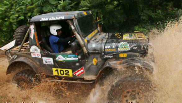 Rainforest Challenge India 2018: V5 Offroaders veteran Jagat Nanjappa now leads the championship