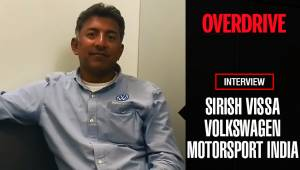 Sirish Vissa, Volkswagen Motorsport India - Interview