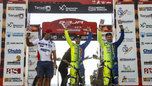 2018 Baja Aragon: Sherco TVS factory rally team's Michael Metge wins 35th edition of event