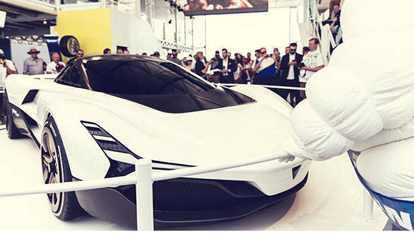 Live updates: Vazirani Shul electric hypercar showcased in India