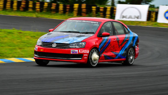 Volkswagen Motorsport partners with Wheels India to develop new forged alloy wheels for the Vento TC4-A touring car