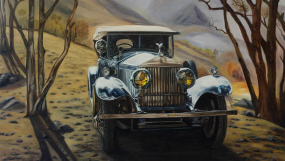Indian Automotive Artist Vidita Singh to exhibit her art work at Pebble Beach Concours
