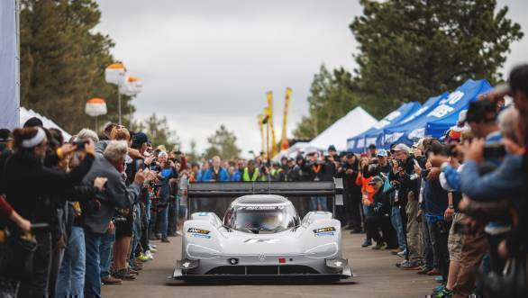 Volkswagen aiming for new record at Goodwood with the I.D R Pikes Peak