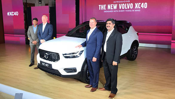 2018 Volvo XC40 launched in India at an introductory price of Rs 39.9 lakh