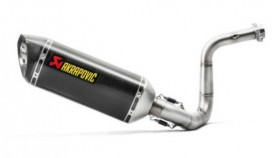 TVS Apache RR310 can now be had with an Akrapovic Racing Line exhaust system