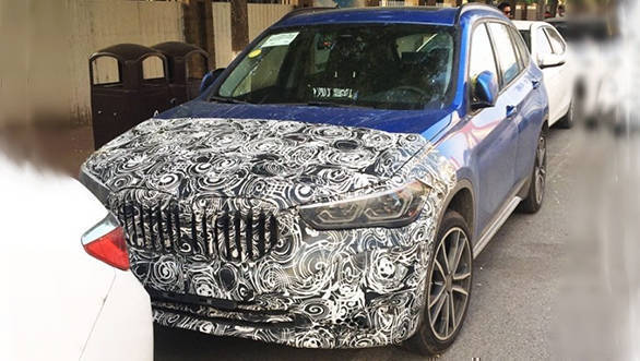 Volvo XC40 rival 2019 BMW X1 facelift SUV spied testing in China