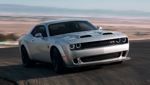 Dodge updates its 2019 line up with the Challenger Hellcat Redeye