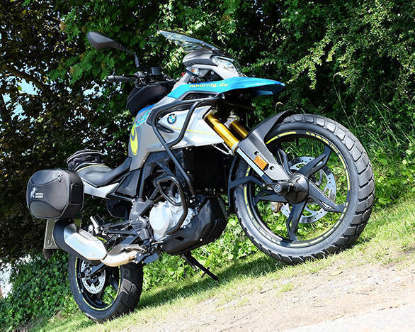 Here Is A BMW G 310 GS Customised By German Parts