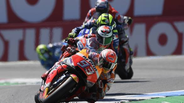 MotoGP: Marc Marquez wins thrilling Dutch TT at Assen