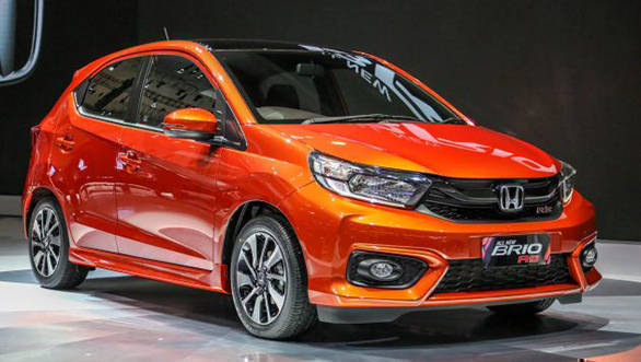 2018 Honda Brio makes world debut in Indonesia