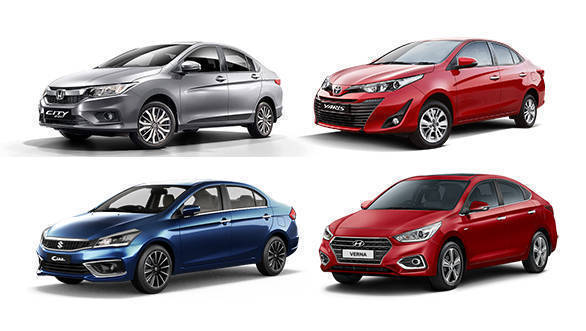 Spec Comparo: Maruti Suzuki Ciaz vs Honda City vs Hyundai Verna vs Toyota Yaris