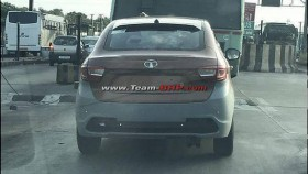 2018 Tata Tigor JTP spied with twin barrel exhaust