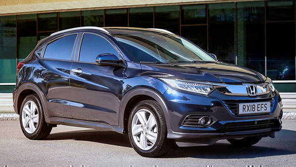 2019 Honda HR-V crossover facelift unveiled, to be powered by 1.5-litre i-VTEC