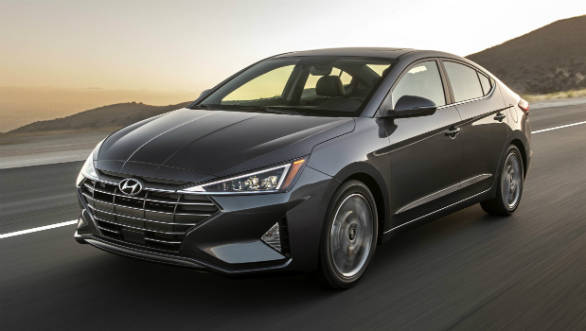 2019 Hyundai Elantra facelift shown internationally