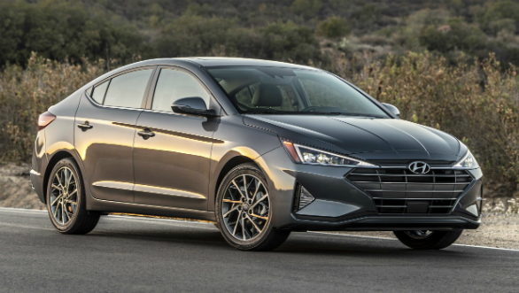 2019 Hyundai Elantra Facelift Shown Internationally Overdrive