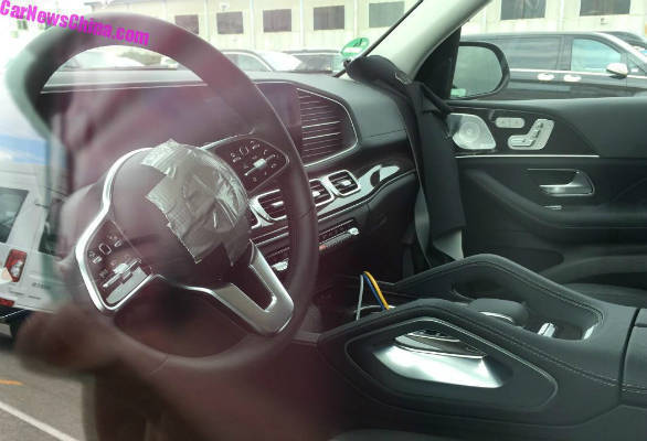 Upcoming 2019 Mercedes Benz Gle Class Interior Revealed In New Spy