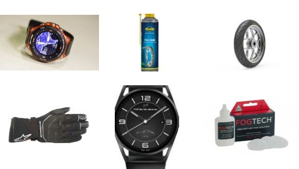 New Gear: Casio Pro Trek Smart WSD F20, Fogtech anti-fog solution, Putoline tech chain lubricant, Apollo Alpha-H1