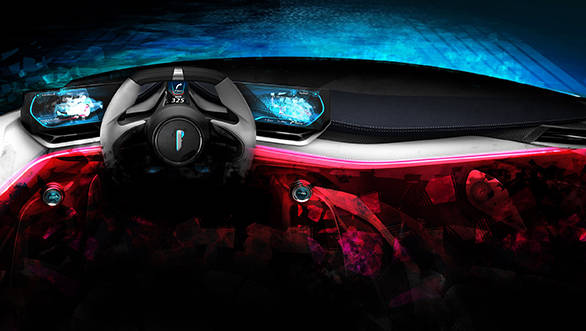 Automobili Pininfarina PF0 all-electric concept hypercar interior revealed