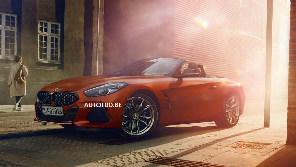 2019 BMW Z4 official photos leaked ahead of reveal