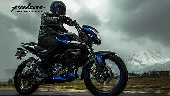 2018 Bajaj Pulsar NS160 with rear disc brake priced at Rs 82,630