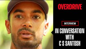 C S Santosh In Conversation with OVERDRIVE