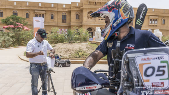 India Baja 2018: Scrutiny and driver's briefing image gallery