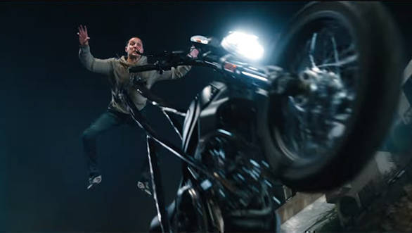 Ducati Scrambler 1100 features in new Venom trailer with Tom Hardy