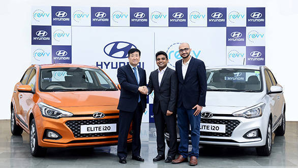 Hyundai announces investment in Indian self-drive car sharing company Revv