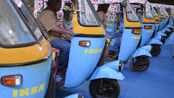 IKEA store in India to use electric rickshaws as delivery vehicles