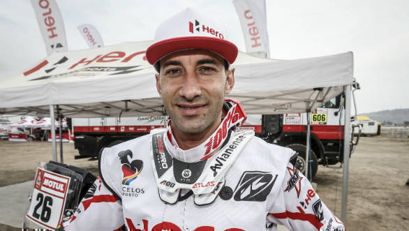 Atacama Rally 2018: Joaquim Rodrigues set to return for Hero MotoSports Team Rally