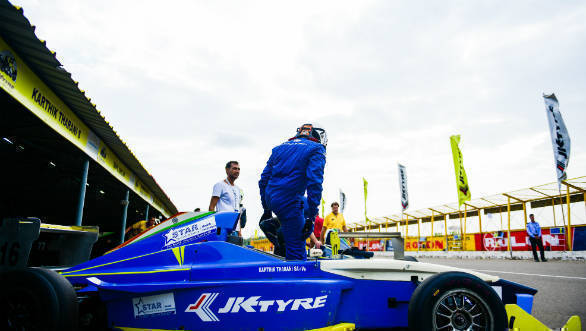 Growing Pains: Karthik Tharani on his return to single seater racing